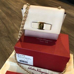 270e2a3e655 Salvatore Ferragamo Bags - Mini Ginny Vara Bow Crossbody Shoulder Bag